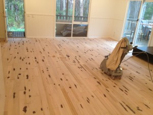 Sanding floors in Melbourne