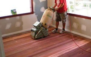Image of timber floor sanding