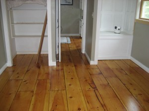 Image of wood floor sanding